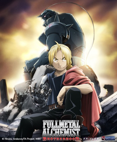 ... the series Full Metal Alchemist Brotherhood will be airing on Adult Swim ...