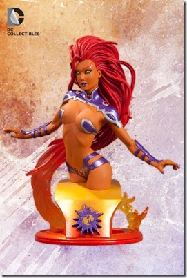 DC Comics The New 52 Starfire Mini Bust
