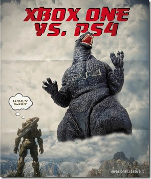 PS4 Godzilla